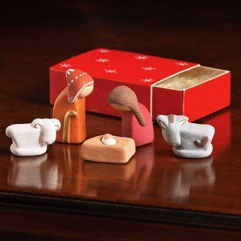 Mini Nativity Scene In A Box