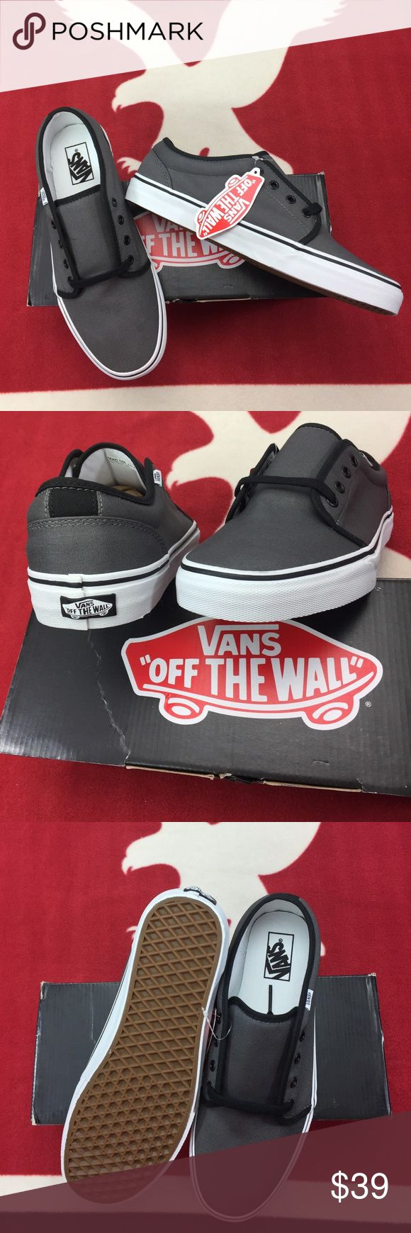Vans 106 Vulcanized Pewter/Black 106 Vans Shoes Sneakers