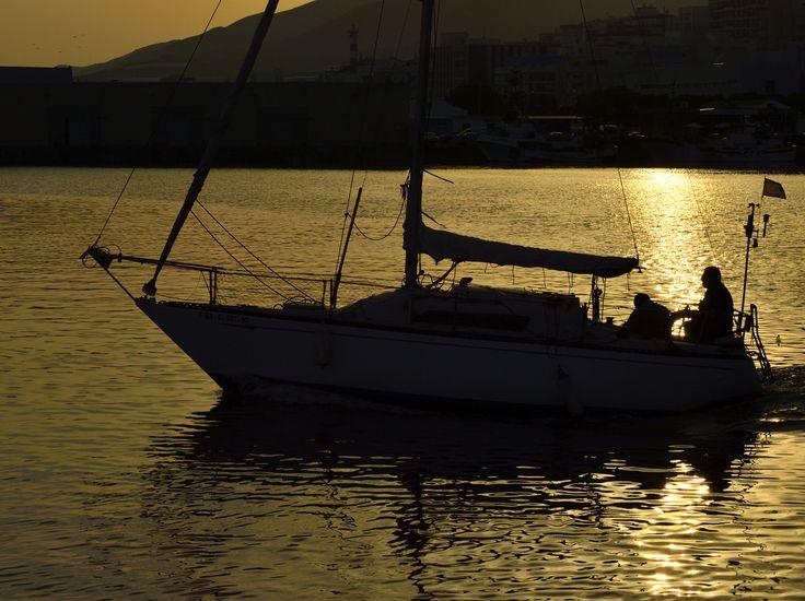 Desde el puerto de Adra saliendo a navegar by Fernando Fernández on 500px