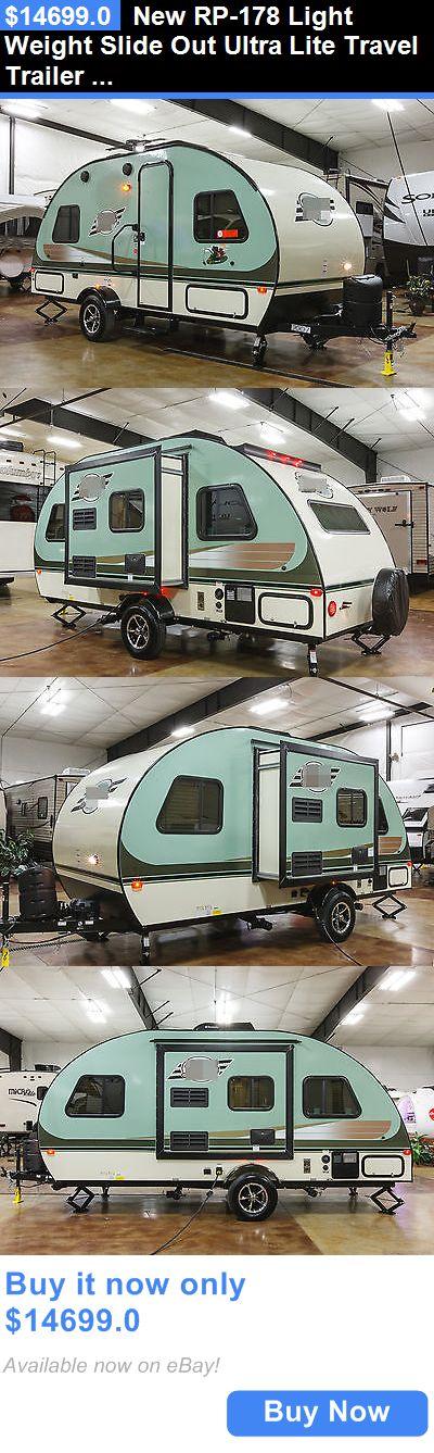 rvs: New Rp-178 Light Weight Slide Out Ultra Lite Travel Trailer Rp178 For Sale Cheap BUY IT NOW ONLY: $14699.0