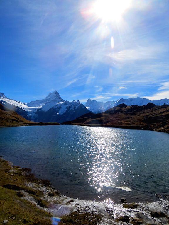 Bachalpsee at Grindelwald First. Switzerland is just stunning! #jungfraurailways #jungfraubahnen  www.rapunzel-will-raus.ch