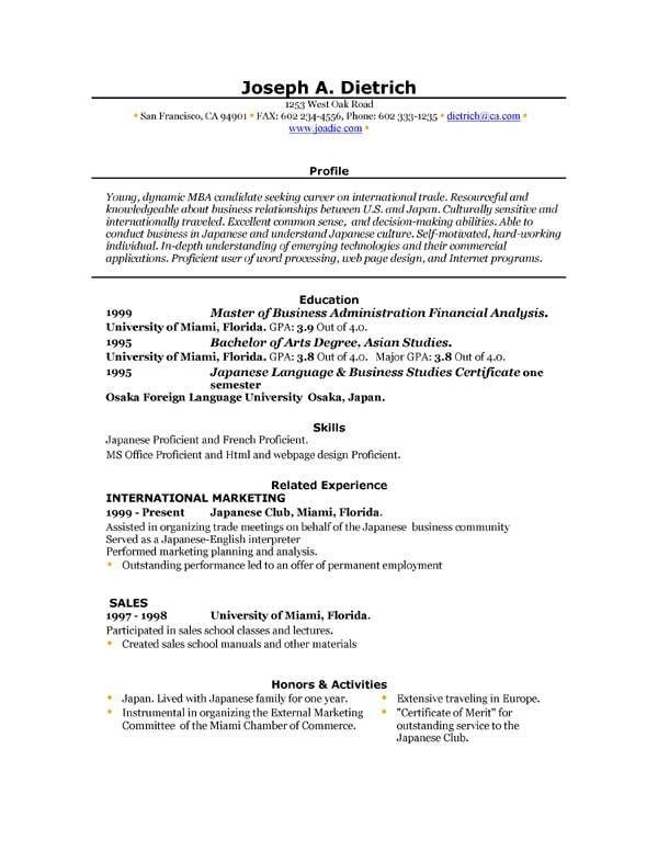 One Page Resume Template Word Creative Resume Template Cv