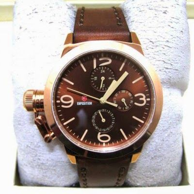 Jam TanganExpedition E-6339 Rosegold Brown RP 850,000 | BB : 21F3BA2F | SMS :083878312537