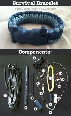 The Homestead Survival | Make Emergency Preparedness Survival Paracord Bracelet | http://thehomesteadsurvival.com