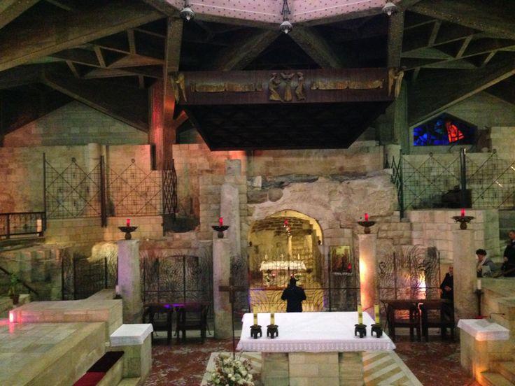 La grotta dell'Annunciazione, il cuore di Nazaret