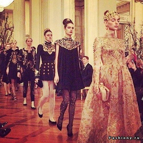 Dolce & Gabbana Alta Moda Весна-Лето 2015