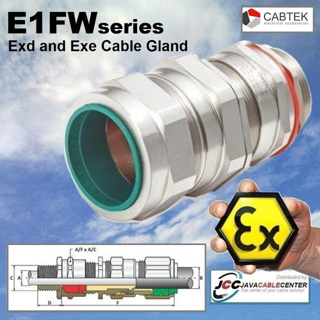 Java Cable Center Cable Gland Ex Proof Cabtek 20s E1fw M20 Armored S Di 2020 Kabel M40 Aplikasi