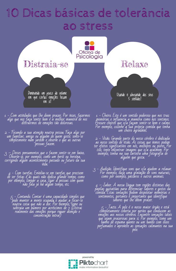 10 dicas de tolerância ao stress