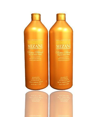 "Mizani Butter Blend Perphecting Creme Normalizing Conditioner 33.8oz ""Pack of 2"" by MIZANI. $36.95. Mizani Butter Blend Perphecting Creme Normalizing Conditioner 33.8oz ""Pack of 2"". Mizani Butter Blend Perphecting Creme Normalizing Conditioner a rich, cream conditioner designed to re-establish hair's natural pH level. Penetrates the cuticle to strengthen the hair with patented ceramides for optimal conditioning. Its moisturizing formula, with shea butter and h..."