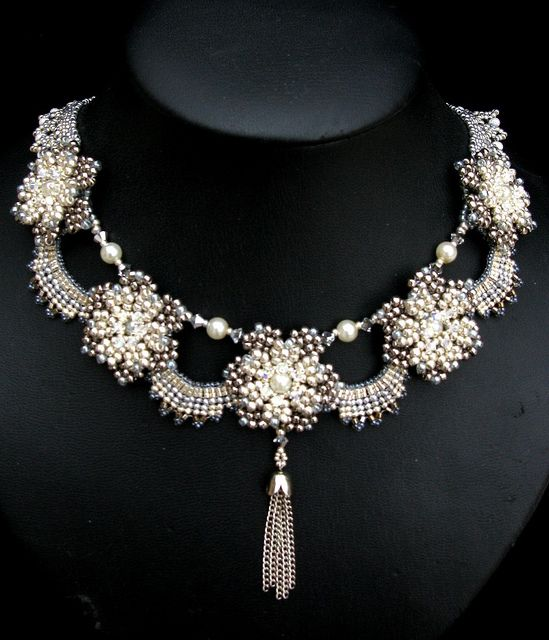 House of Windsor Necklace by Cielo Design, via Flickr