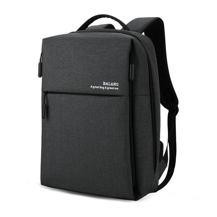 External micro-USB with set-in charging cable is convenient for your electronic device's use anywhere,This slim business laptop backpack fits for all 15 to 16