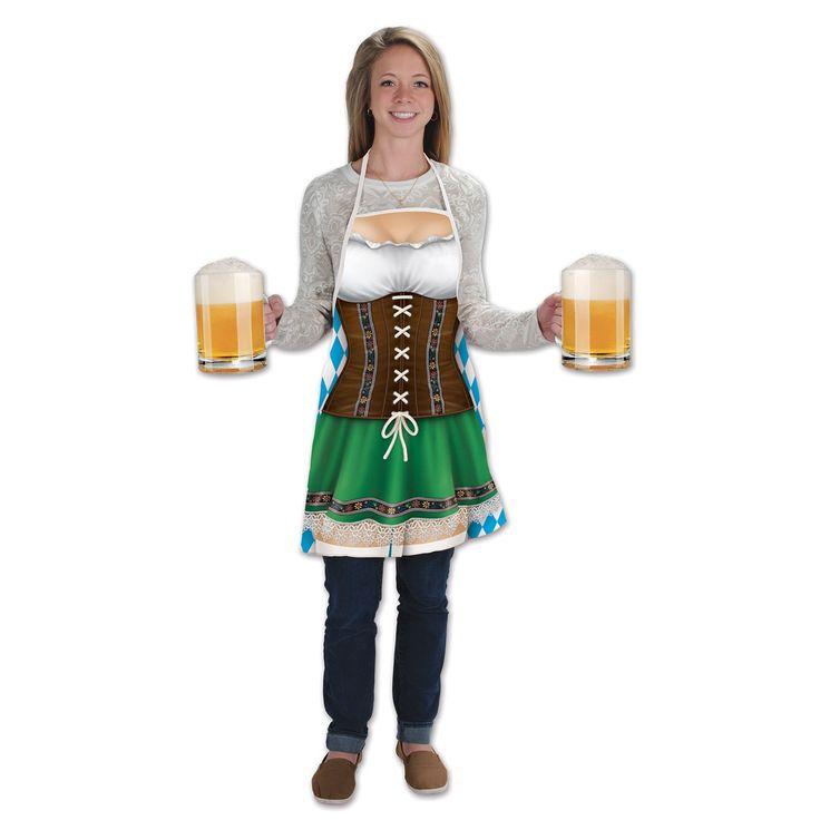 Fraulein Fabric Novelty Apron (6ct)