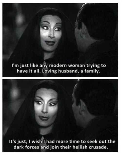 Halloween Isnt Complete Without 16 Of The Best Morticia And Wednesday Addams Moments