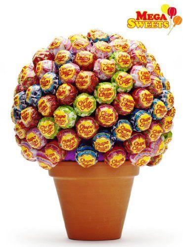 Mega Sweets Lolli Baum ca. 130 Lutscher: Amazon.de: Lebensmittel & Getränke