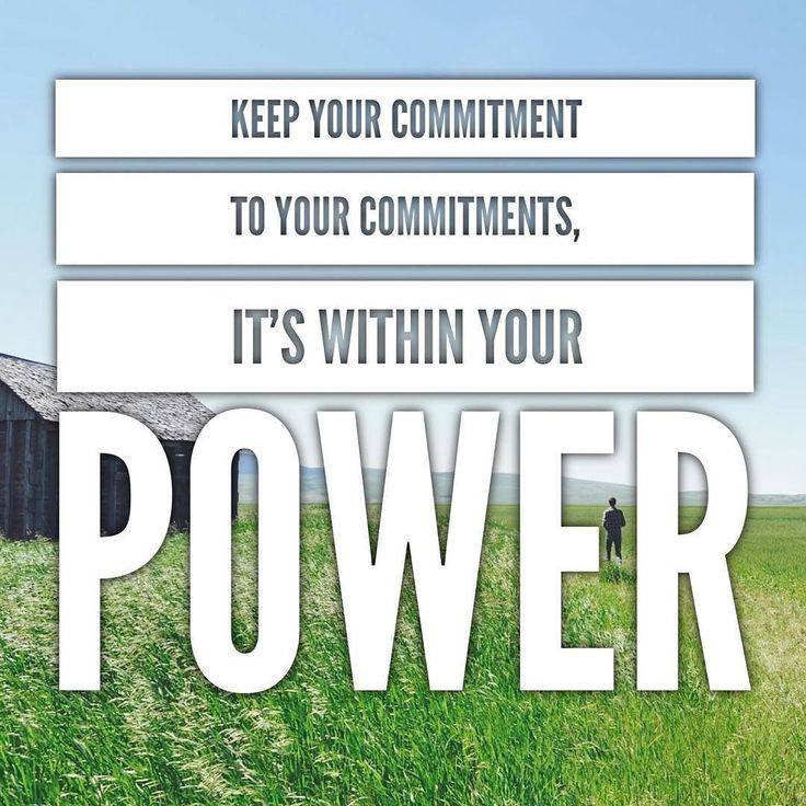 Don't let the fear of commitment creep in and hold you back. Believe in your ability to make and honor commitments. Start with small goals. Accept and embrace that your fear of commitment is related to your lack of confidence and passion. @yourbusinesspartner