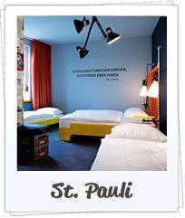 Hostel Superbude in Hamburg - cool und entspannt im Hamburger Hotel übernachten.