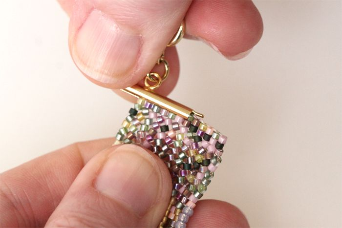 Using Delica beads with Miyuki Slide Tubes ~ Seed Bead Tutorials