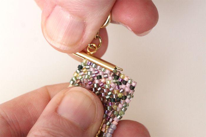 Comment utiliser les embouts Miyuki pour tissage de perles?