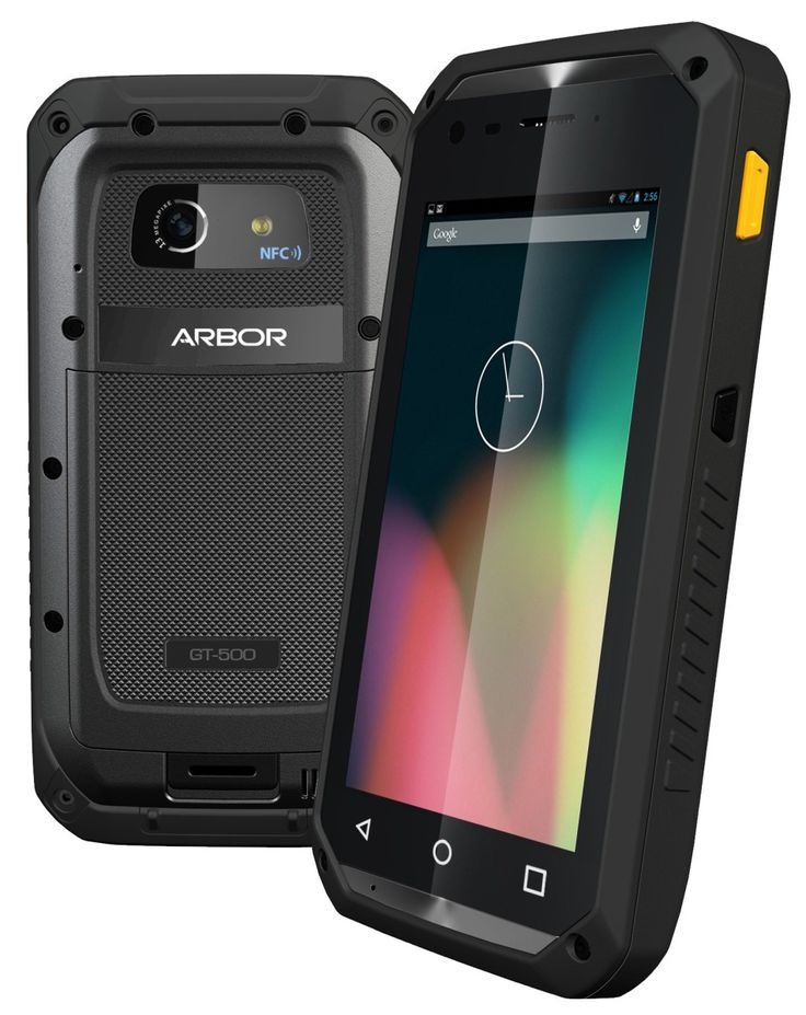 5″ Rugged Android™ Handheld Device with 4G LTE solution IP67 rated water and dust resistance Built-in 1D/2D barcode reader