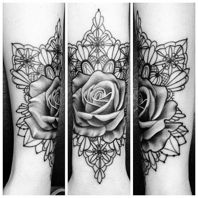 35 best rose mandala images on pinterest tattoo ideas. Black Bedroom Furniture Sets. Home Design Ideas