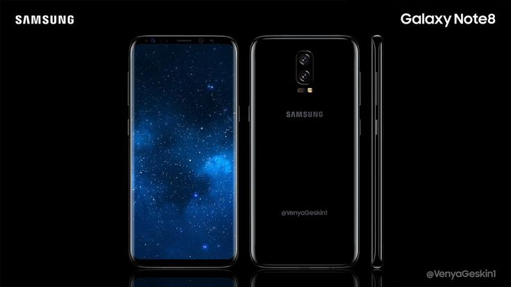 Esto es lo que se conoce hasta elmomento   sobre el Samsung Galaxy Note 8         Al parecer estamos cada vez mas cerca de contar con el n...