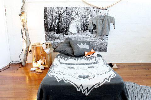 Toddler Blanket - Fox – Burrow & Be