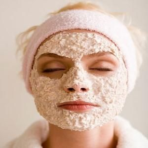 Simple Oatmeal Face Mask for Oily Skin