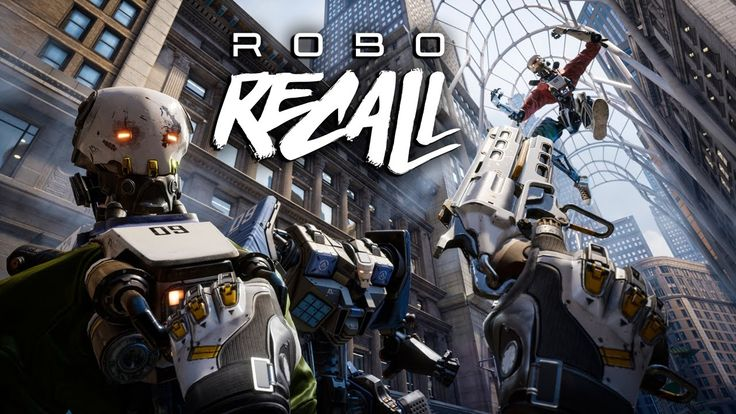 Robo Recall Announce Trailer