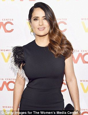 Salma Hayek claimed Donald Trump asked her out repeatedly when she had a boyfriend then planted an embarrassing story about her height in a magazine when she rejected him