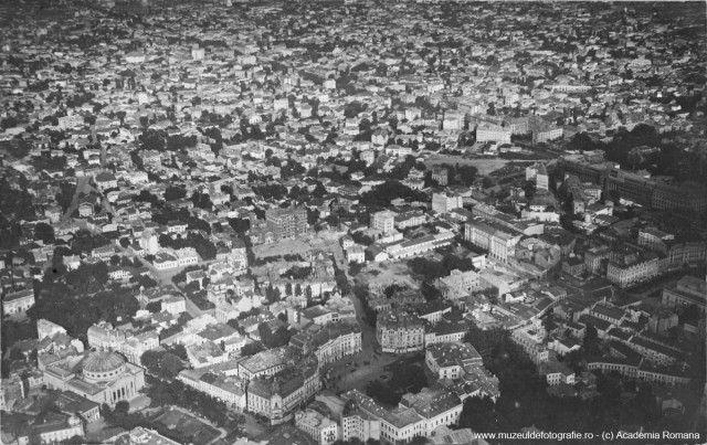 Centrul Bucurestiului in 1920.