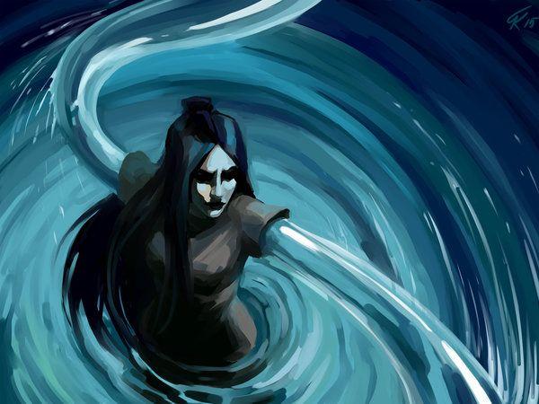 ming hua Dark Water by Biorn-21.deviantart.com on @DeviantArt