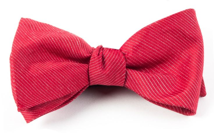 Fountain Solid BOW TIES - Red | Ties, Bow Ties, and Pocket Squares | The Tie Bar