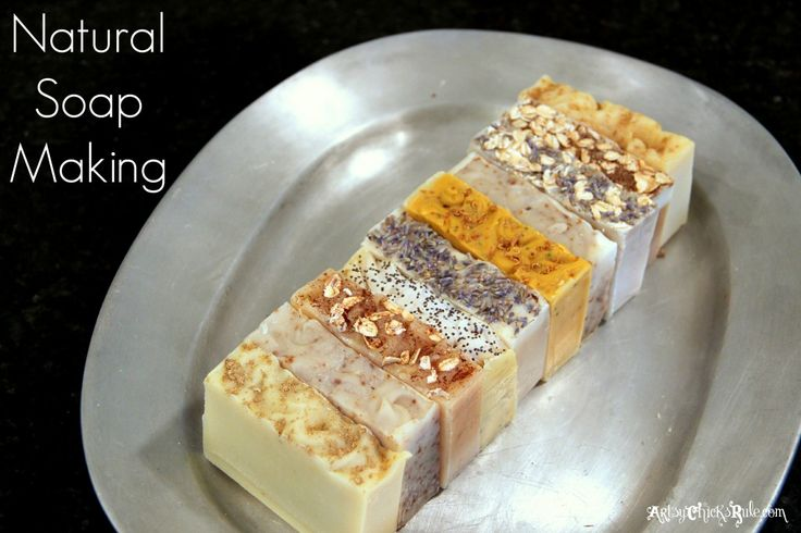 Natural Soap Making - Tops - Various essential oils  additives! So many possibilities! Healthy, all natural soap. #naturalsoap