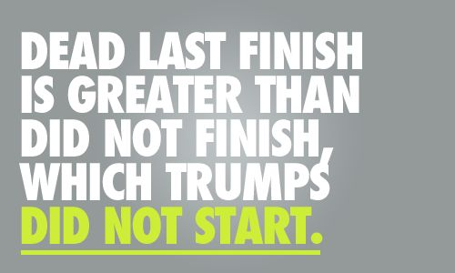 This is how I feel about my first ever 5K coming up.