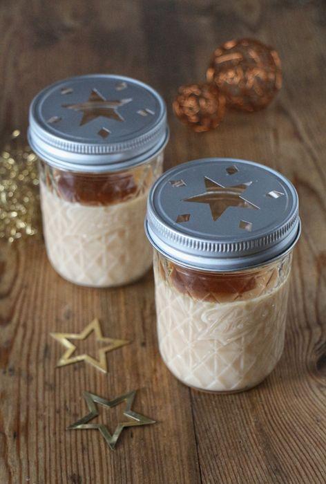 Weihnachtsdessert: Karamellpudding mit selbstgemachtem Karamell