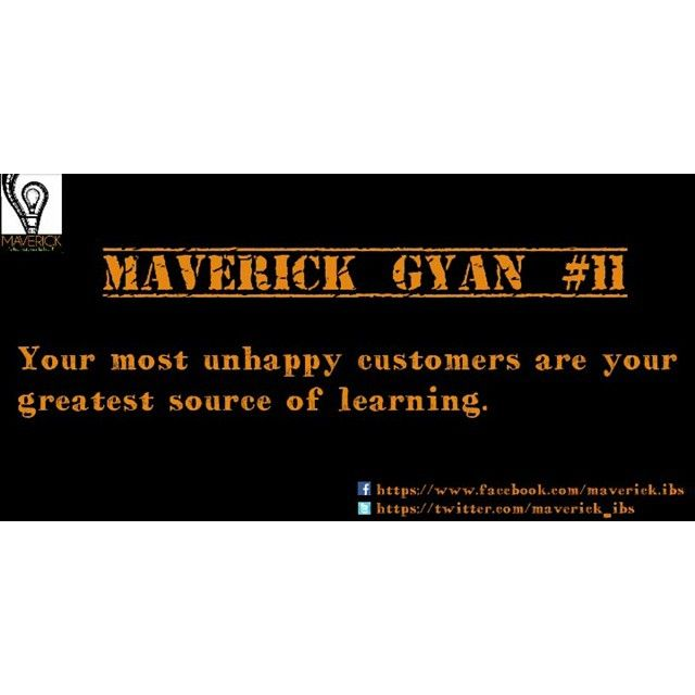 #maverickgyan #customers #leaarning