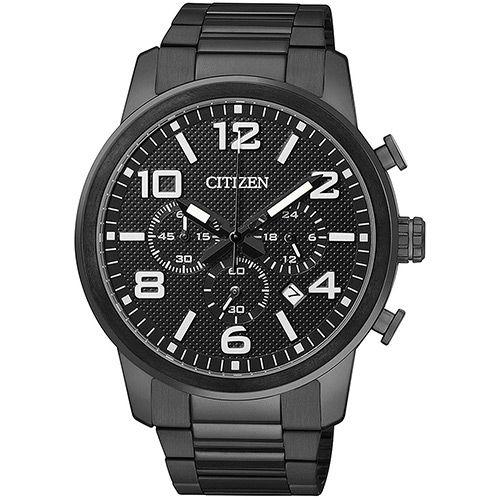 Relógio Masculino Citizen Cronógrafo Social TZ20297P (Cód.122085743)