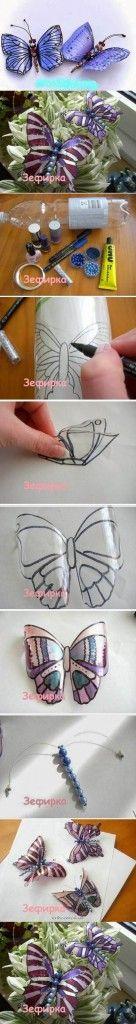 Beautiful-Butterflies-from-Plastic-Bottles-2