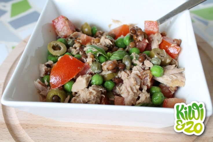 Lunch om mee te nemen: tonijnsalade