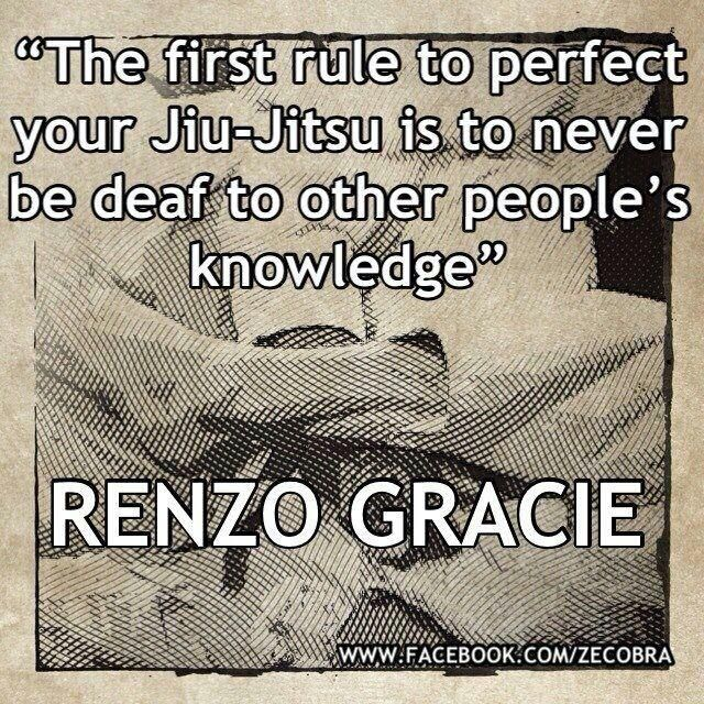 The first rule to perfect your Jiu-Jitsu is to never be deaf to other people's knowledge. #bjj #jiujitsu #graciejiujitsu  | Mada Krav Maga in Shelby Township, MI teaches realistic hand to hand combat that uses the quickest methods to attack the weakest and most vital targets of both armed and unarmed assailants! Visit our website www.madakravmaga.com or call (586) 745-1171 for more details!