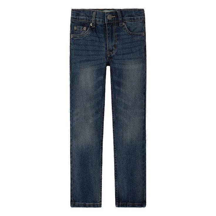 Boys 4-7x Levi's 511 Slim Fit Jeans, Size: 7X, Light Blue