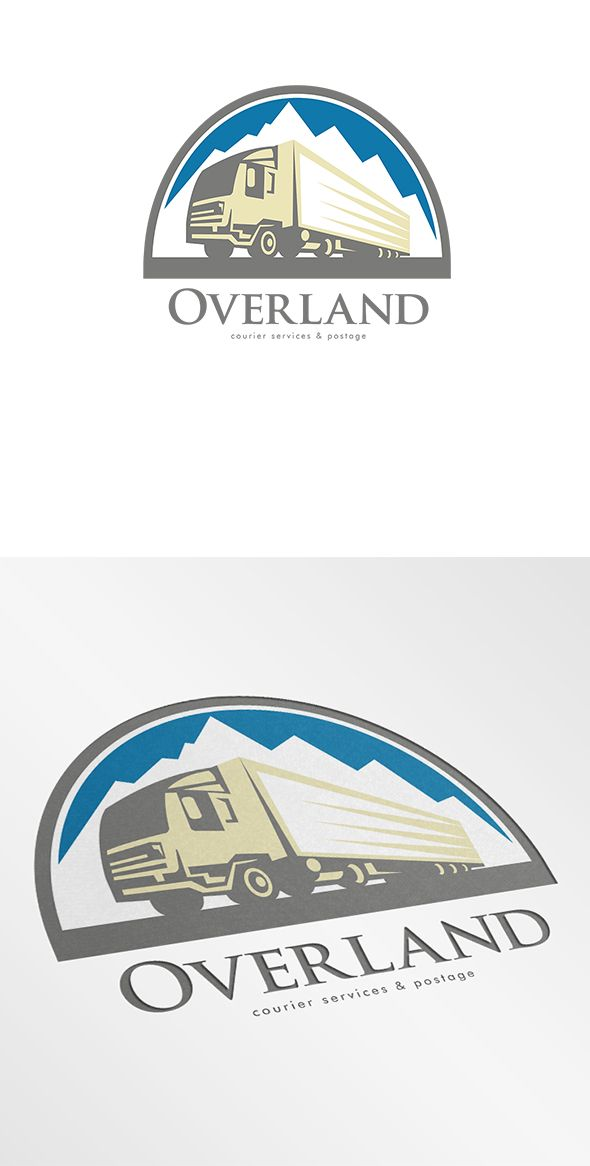 Overland Courier Services Logo