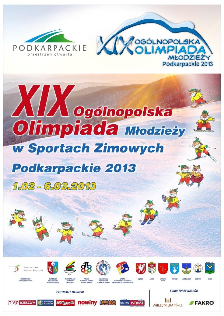 XIX Ogólnopolska Olimpiada Młodzieży w Sportach Zimowych w Ustrzykach Dolnych