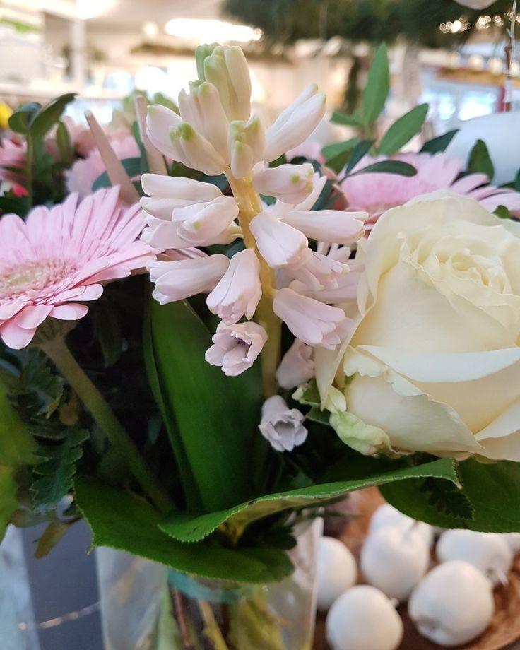 Hyacint som snittblommor, love it! 😀 #lillahults @lillahults