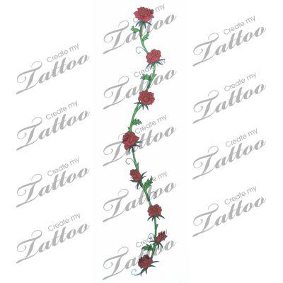 best 25 rose vine tattoos ideas on pinterest rose vines