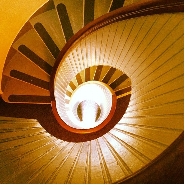 Cabrillo National Monument. Staircase of Point Loma Lighthouse, by Andrew Seraphin