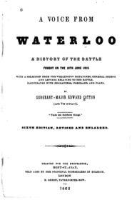 1862  A Voice of Waterloo by Edward Cotton.        via Google Books. (PD150)                            suzilove.com