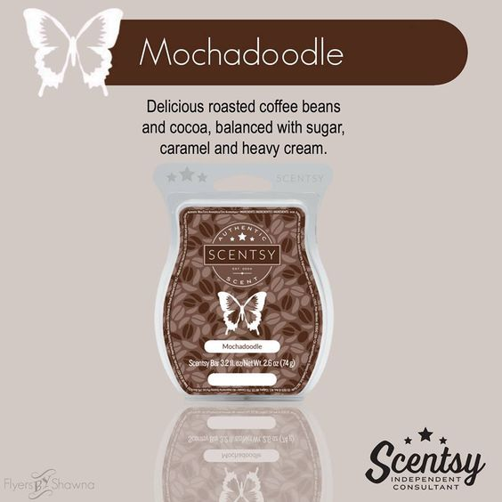 Scentsy Scents / Bars - Cafe - Mochadoodle -https://jacquischlotterbeck.scentsy.us