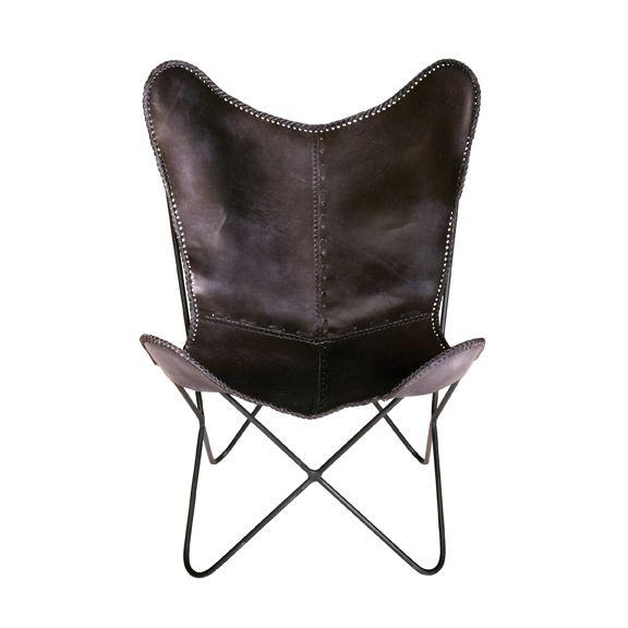 Harrison Butterfly Chair - Black