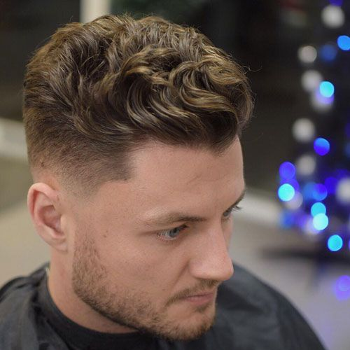 50 Wavy Hairstyles For Men 2019